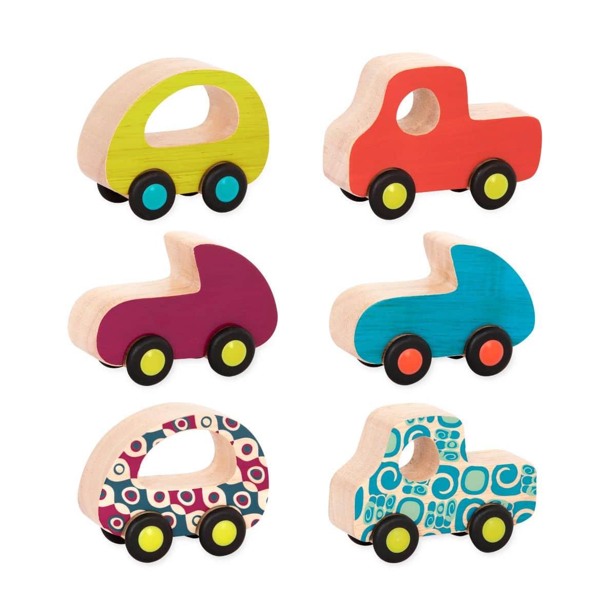 Free Wheee Lees Wooden Car Toys B Woodsy